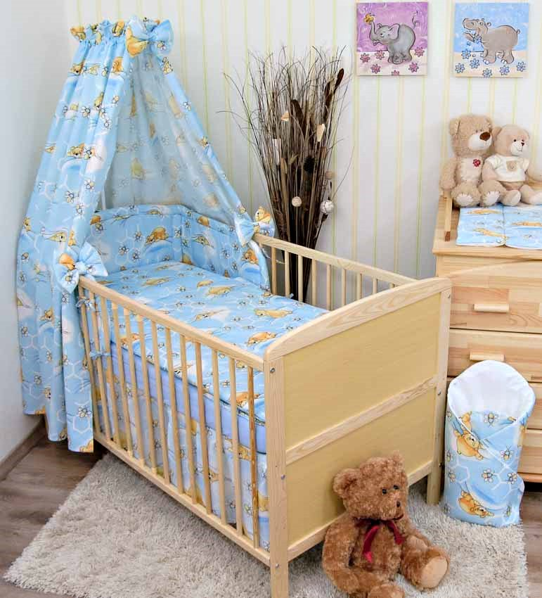 babybett kinderbett juniorbett 140x70 bettset komplett ebay. Black Bedroom Furniture Sets. Home Design Ideas