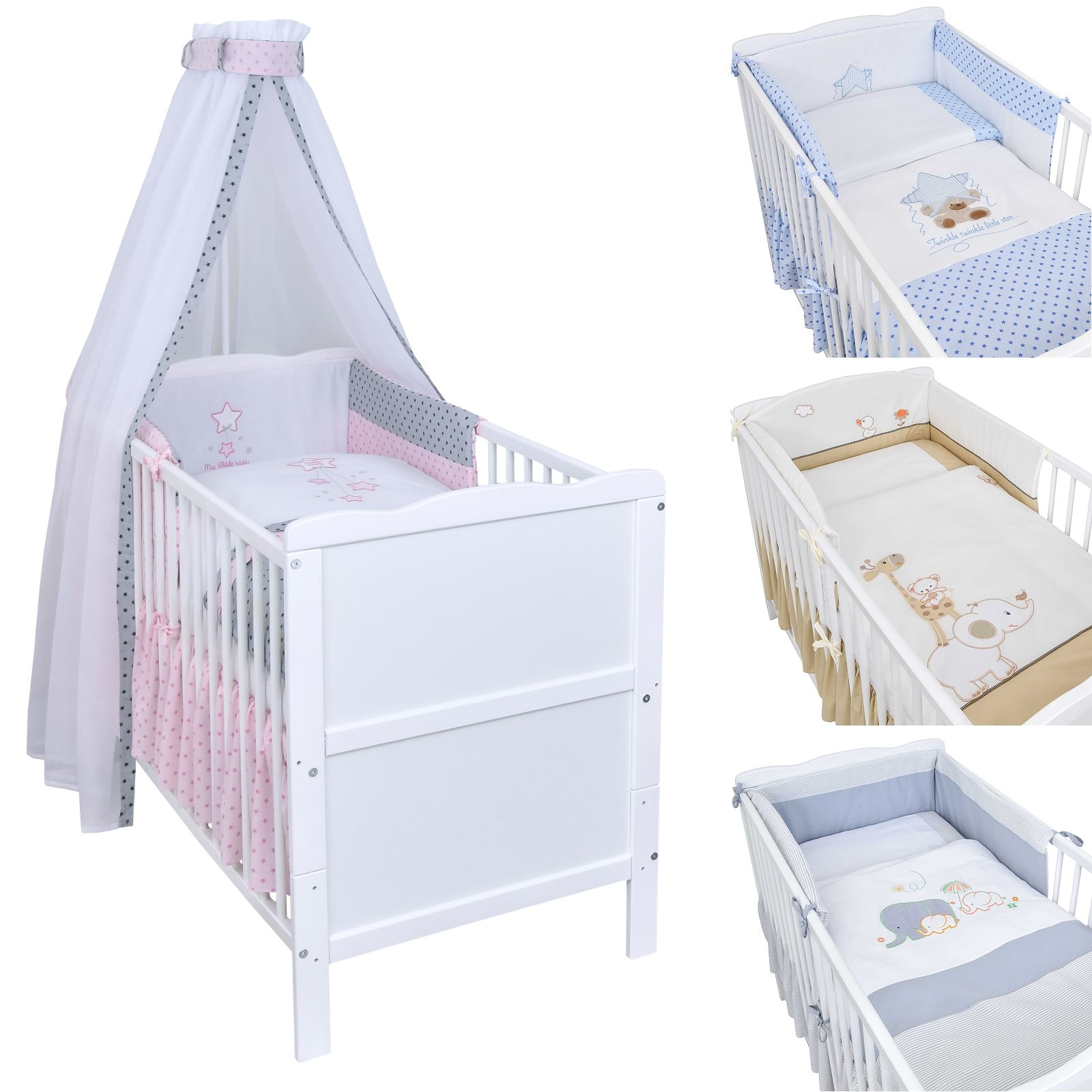 For-Your-Little-Kinderbett wasserdicht Spannbettlaken 120/x 60/cm 2/St/ück