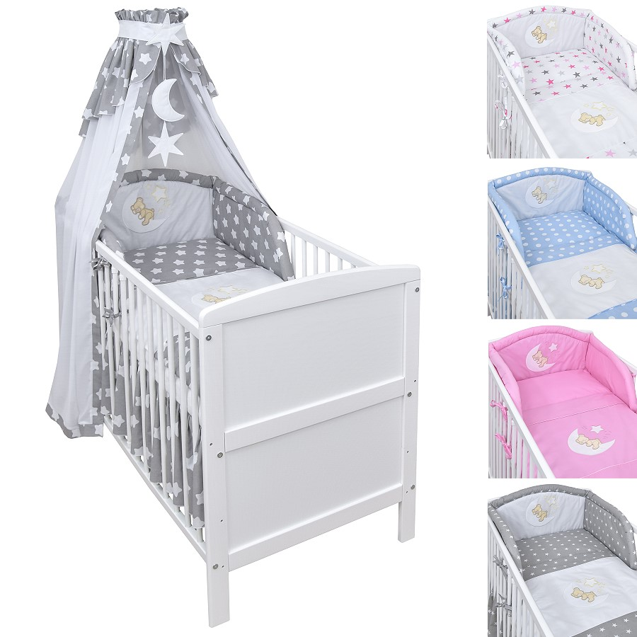 baby bettset mit wickelauflage baby sets mit prinzessin. Black Bedroom Furniture Sets. Home Design Ideas