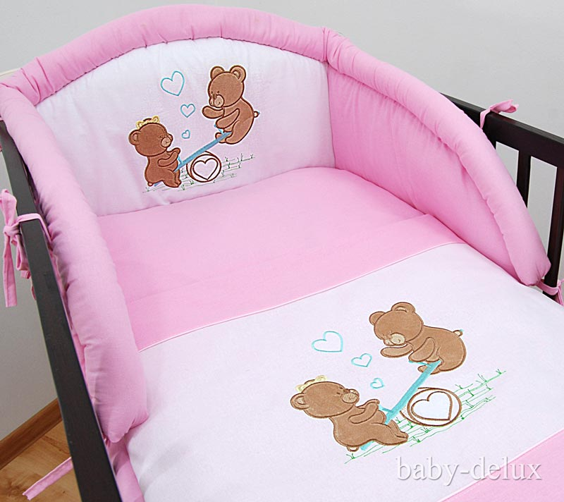 babybett kinderbett juniorbett massiv bettset komplett ebay. Black Bedroom Furniture Sets. Home Design Ideas