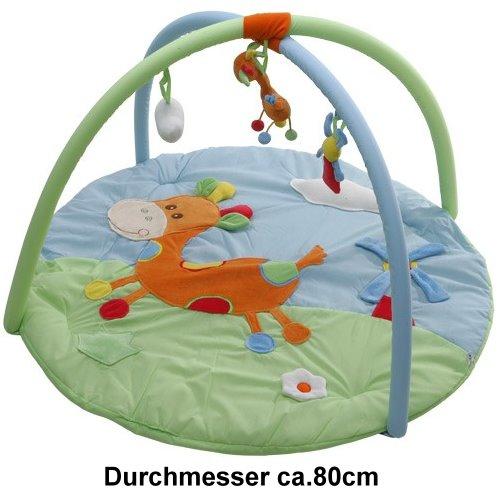 krabbeldecke erlebnisdecke baby spieldecke mit spielbogen ebay. Black Bedroom Furniture Sets. Home Design Ideas