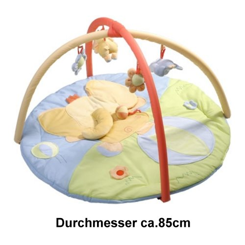 krabbeldecke erlebnisdecke baby spieldecke mit spielbogen ebay. Black Bedroom Furniture Sets. Home Design Ideas