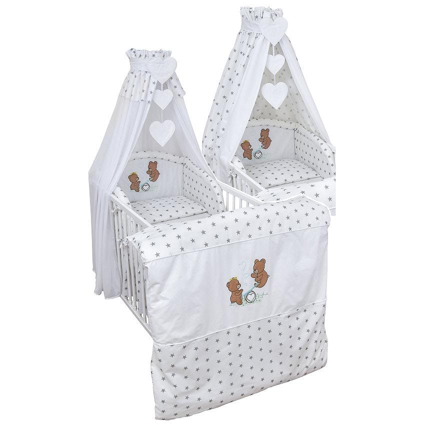babyzimmer babybett teddyb r wickelkommode sonoma eiche. Black Bedroom Furniture Sets. Home Design Ideas